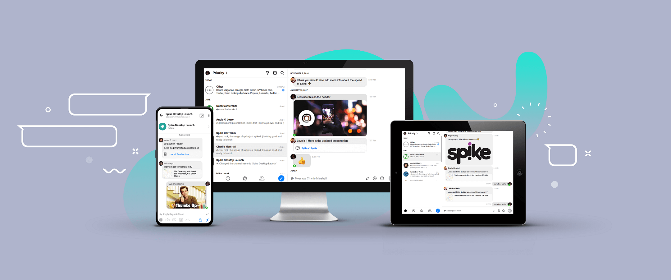 Spike Review, Spike Email, Hop Email Review, Productivity Land