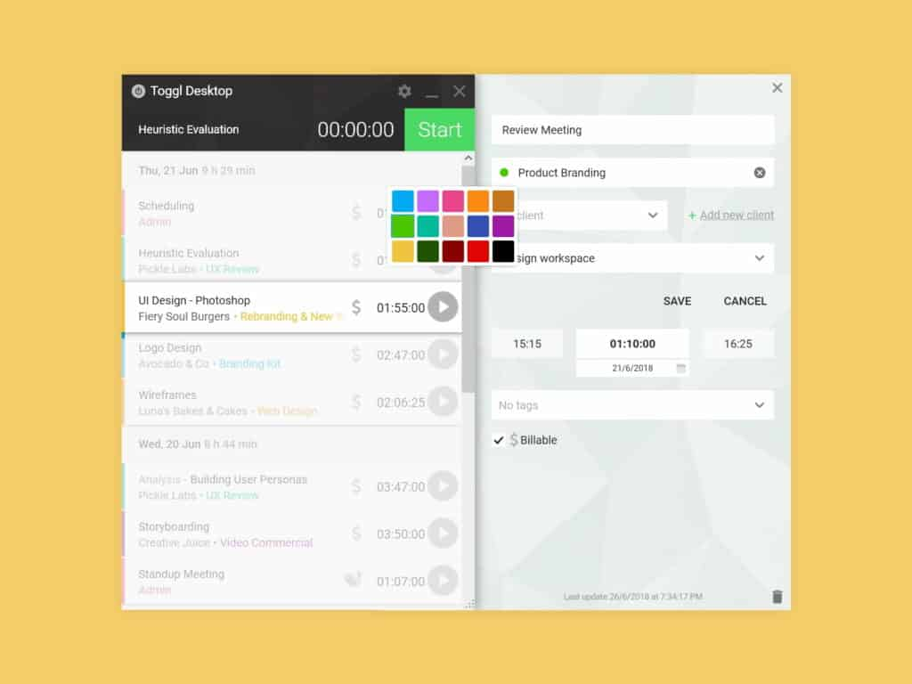 The 6 Best Free Timesheet & Time Tracking Software in 2019