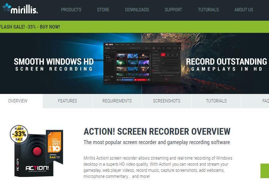 Action Screen Recorder