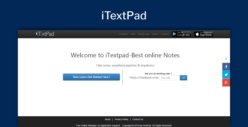 Top 13 Free Online Notepads | No Login Required - Productivity Land