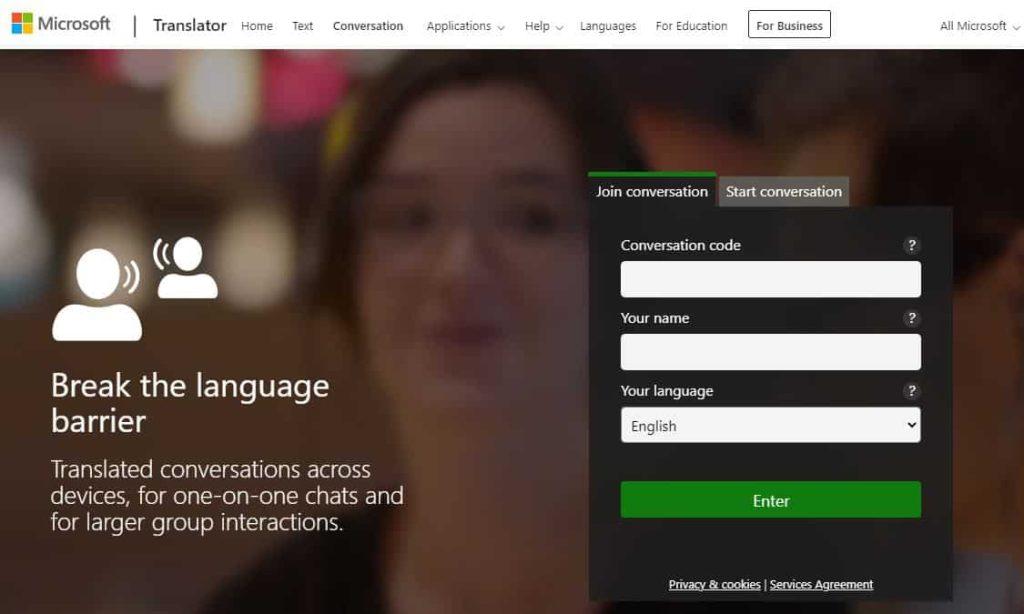 Microsoft Translator- best translator app
