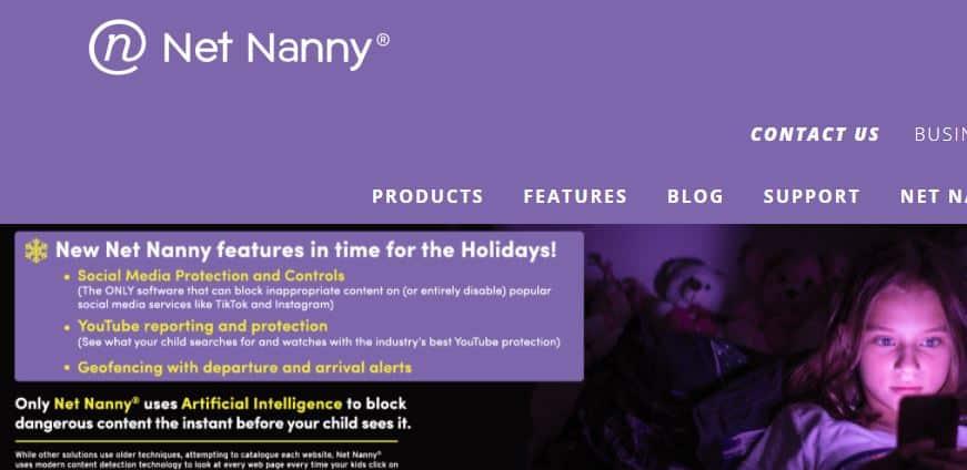 Netnanny parental app