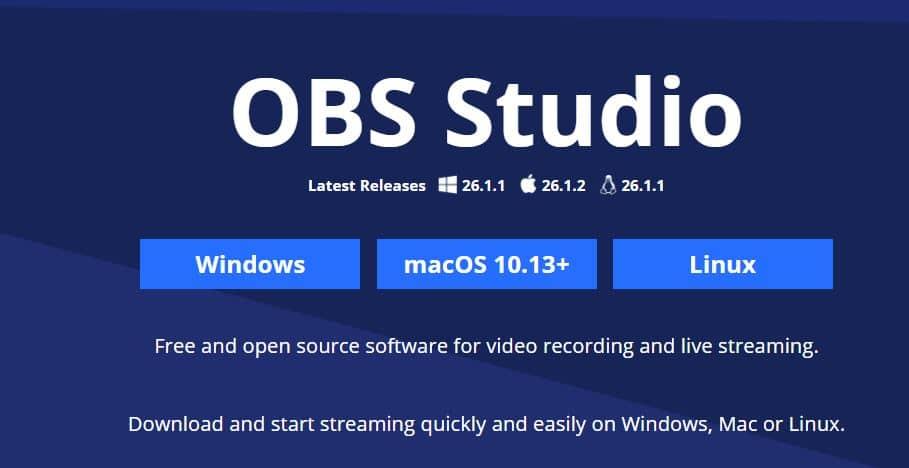 Open Broadcaster Studio