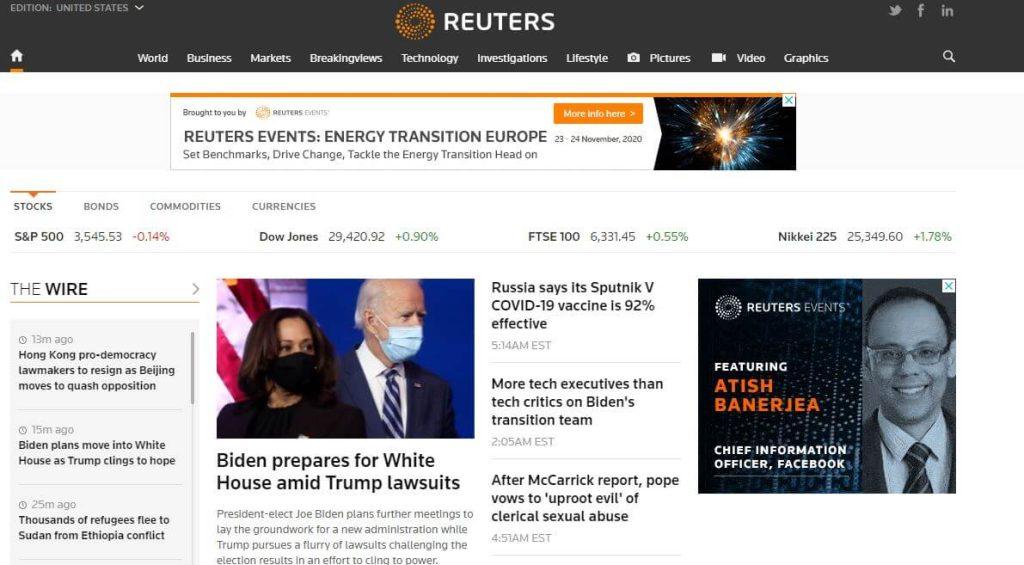 Reuters News