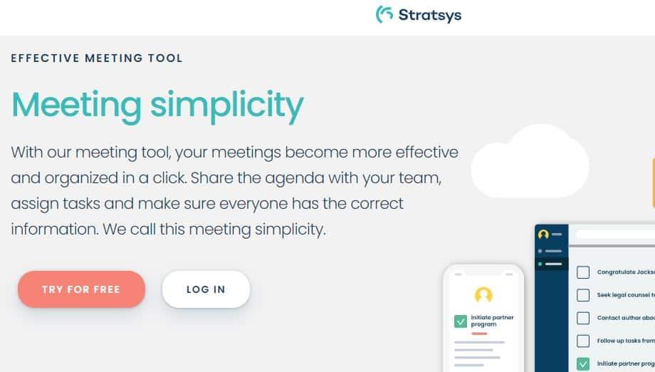 Stratsys meeting