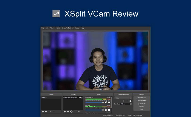 XSplit VCam review