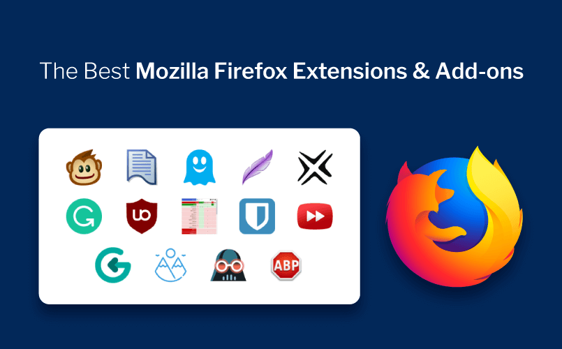 The 14 Best Mozilla Firefox Add-ons, Apps & Extensions of 2019