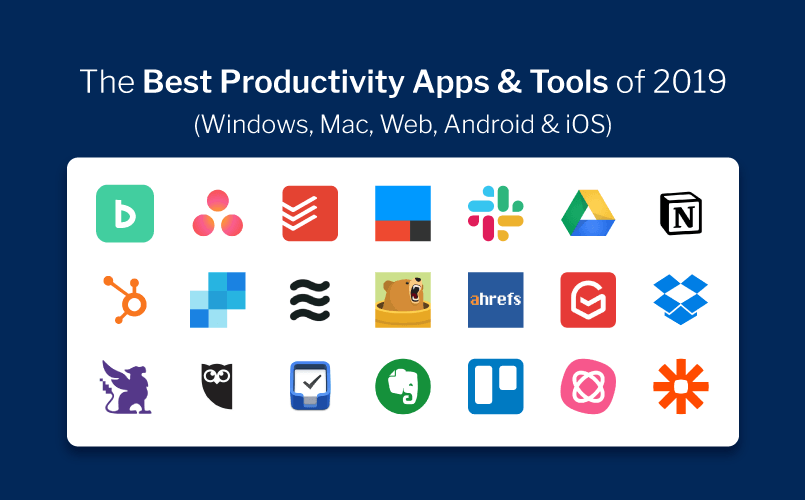 The Best Productivity Apps of 2019 – Mac, Windows, Web, Android & iOS