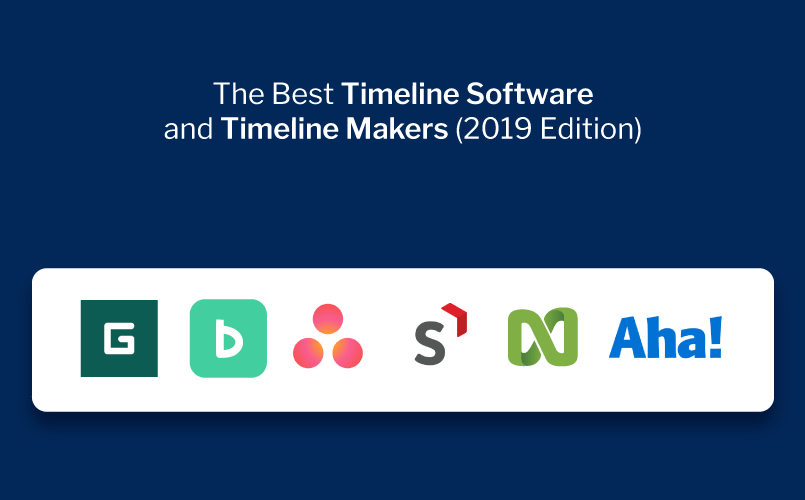 The 11+ Best Timeline Software and Timeline Makers of 2019