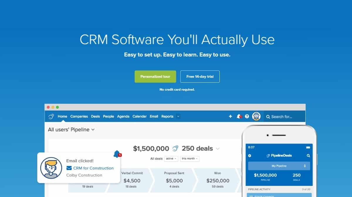 best crm software, crm software 2019
