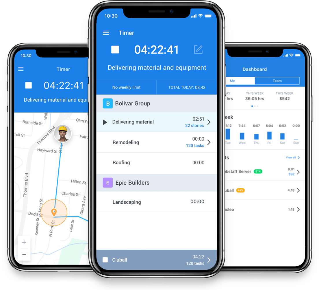 Hubstaff time tracking software, Hubstaff review, Hubstaff features and pricing