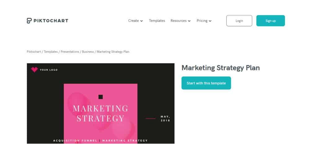 piktochart-marketing-plan